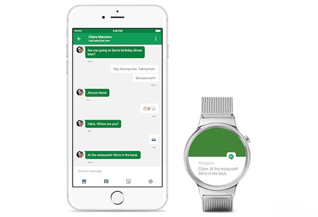 android wear ios 1 09 2015 - Android Wear: aggiunta la compatibilità con iPhone