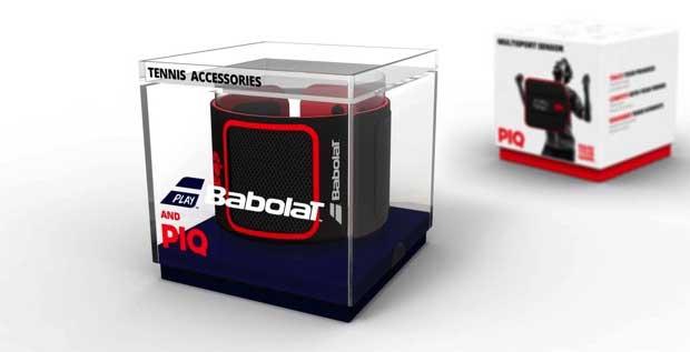 """babolat2 31 08 15 - Babolat Pop: fascia da polso """"smart"""" per tennisti"""
