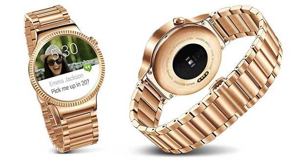 huaweiwatchoro1 31 08 15 - Huawei e LG: smartwatch in oro a IFA 2015