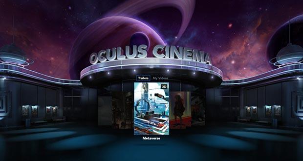 oculus cinema 07 08 2015 - Oculus Cinema: il cinema sui visori VR diventa social