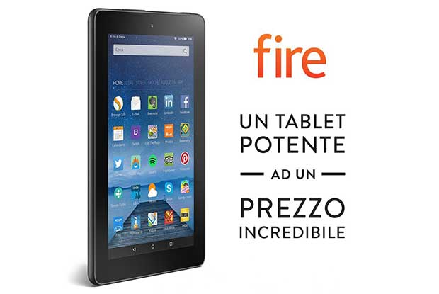 amazonfire1 18 09 15 - Amazon Fire: tablet da 7 pollici a 59,99 Euro