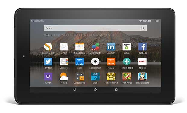 amazonfire3 18 09 15 - Amazon Fire: tablet da 7 pollici a 59,99 Euro
