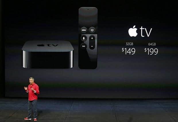 apple tv 09 09 2015 - Apple TV: telecomando con touchpad, tvOS e Siri