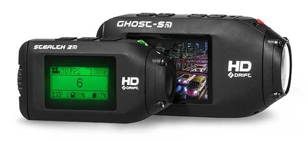 drift2 25 09 15 - Drift Ghost-S e Stealth 2: action-cam con lenti girevoli