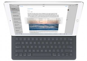 "ipad pro2 10 09 15 300x210 - iPad Pro: tablet 12,9"" con pennetta e cover Smart Keyboard"