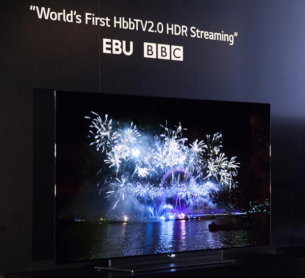 lg hdr 03 09 2015 - LG: demo in HDR sui TV OLED con BBC e Astra