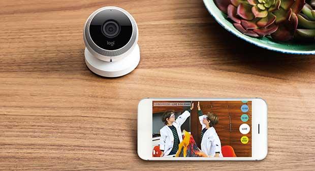 "logicircle2 30 09 15 - Logitech Circle: webcam 1080p ""smart"" per la casa"