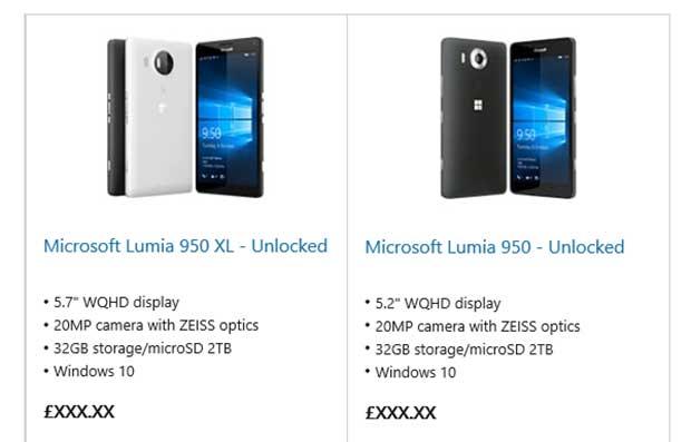 lumia950 950XL 1 30 09 15 - Lumia 950 e 950 XL: dettagli in arrivo da Microsoft UK