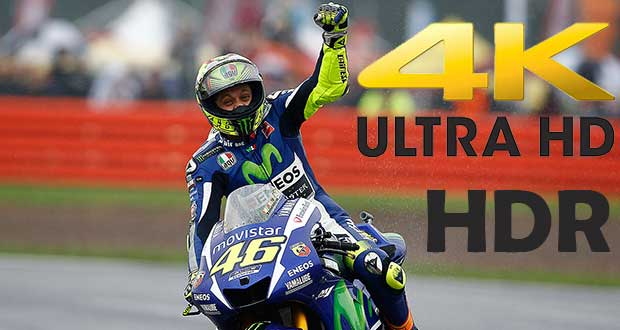 motogp hdr 11 09 15 - Sony: demo MotoGP in 4K HDR all'IBC 2015