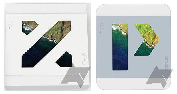 nexus 5x 6p 24 09 2015 - Nexus 5X e 6P: prime immagini di confezioni e smartphone