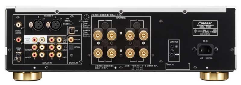 pioneer3 14 09 15 - Pioneer: amplificatori Hi-Fi con DAC A-50DA e A-70DA