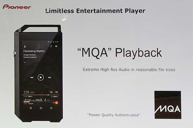 pioneermqa3 25 09 15 - Pioneer XDP-100R: player musicale Android con MQA