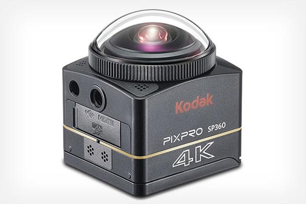 pixpro 360 09 09 2015 - Kodak PixPro SP360: action cam 4K per video a 360°