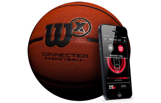 """wilsonx 1 21 09 15 - Wilson X: pallone """"smart"""" per la pallacanestro"""