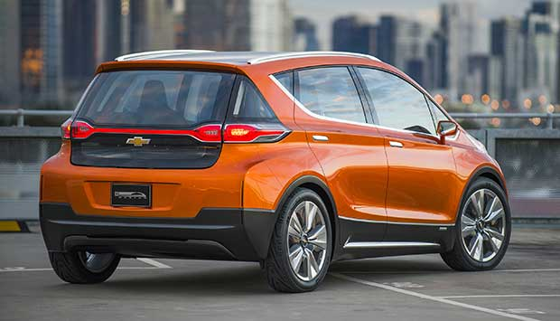 chevroletboltev 2 21 10 15 - Chevrolet Bolt EV: auto 100% elettrica sviluppata con LG