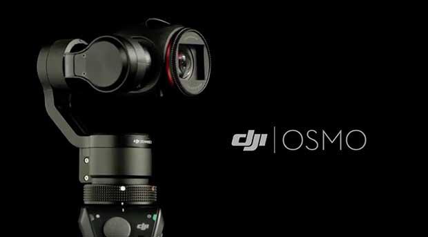 dji osmo1 13 10 15 - DJI Osmo: mini-videocamera 4K con testa motorizzata