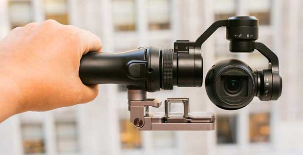 dji osmo3 13 10 15 - DJI Osmo: mini-videocamera 4K con testa motorizzata