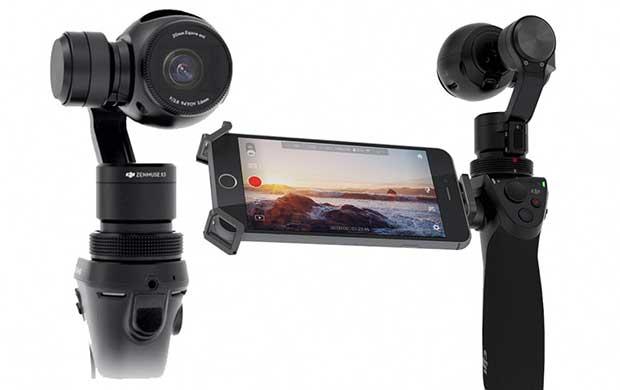 dji osmo4 13 10 15 - DJI Osmo: mini-videocamera 4K con testa motorizzata