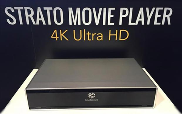 "kaleidescape strato evi 2 16 10 2015 - Kaleidescape Strato: ""movie player"" Ultra HD con HDR"