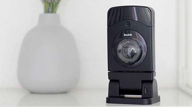 kodak 1 12 10 15 - Kodak CFH-V20: webcam HD con extender Wi-Fi e IFTTT