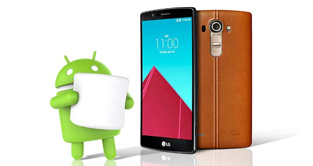 lgg4 marshmallow 15 10 15 - LG G4: firmware Android 6.0 Marshmallow in arrivo