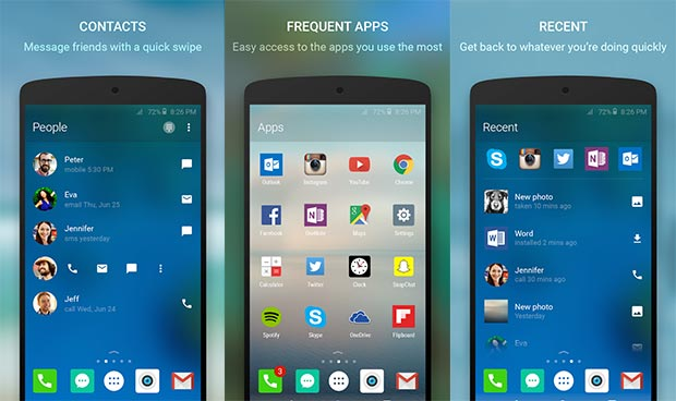 microsoft arrow 30 10 2015 - Microsoft Arrow: launcher gratuito per Android
