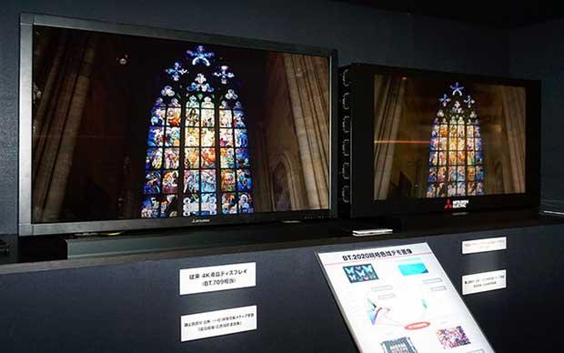 mitsubishilaser 2 07 10 15 - Mitsubishi: TV LCD Laser Ultra HD con REC.2020