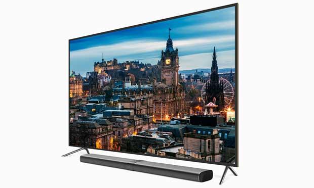"mitv3 1 21 10 15 - Xiaomi Mi TV 3: TV 60"" 4K con Smart TV nella soundbar"