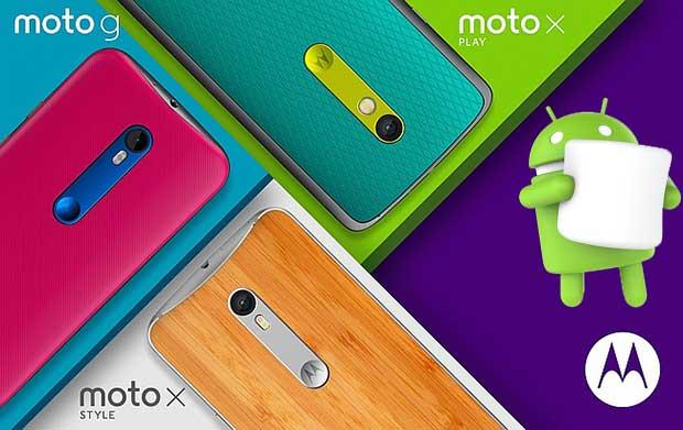 motorola marshmallow2 19 10 15 - Motorola: Android 6.0 in arrivo su MotoX e Moto G