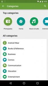 play store nuova ui 2 23 10 2015 169x300 - Google Play Store: nuova interfaccia grafica