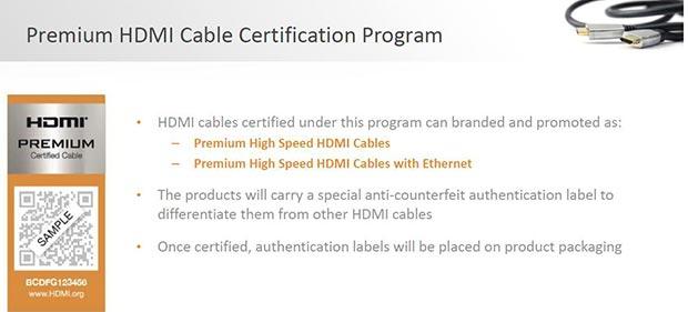 premium hdmi certification 2 06 10 2015 - HDMI Licensing: cavi HDMI certificati per l'Ultra HD