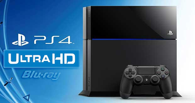 ps4 ulta hd blu ray 27 10 2015 - PlayStation 4: Sony pensa a un modello con Ultra HD Blu-ray