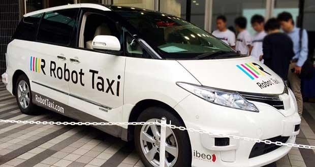 robottaxi evi 02 10 15 - Robot Taxi: taxi senza tassista in Giappone