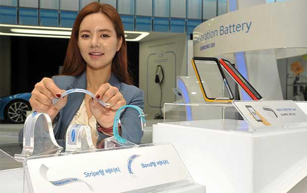 samsung batterie1 - Samsung: nuove batterie flessibili e ultra-sottili