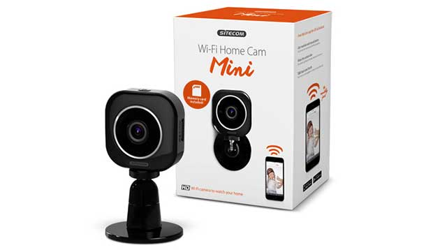 sitecom cam 1 22 10 15 - Sitecom: nuove webcam Wi-Fi 720p Mini e Twist
