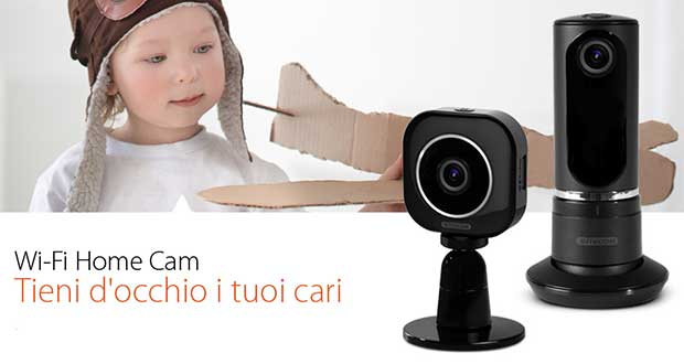 sitecom cam evi 22 10 15 - Sitecom: nuove webcam Wi-Fi 720p Mini e Twist
