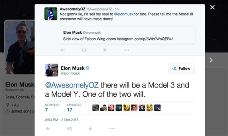 """tesla 1 07 10 15 - Tesla Model 3 e Model Y: le prossime """"elettriche"""""""
