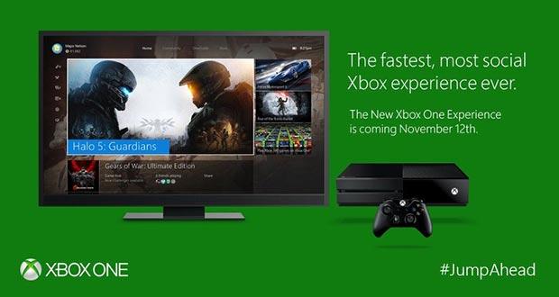 xbox one aggiornamento 27 10 2015 - Xbox One: UI Windows 10 e giochi Xbox 360 dal 12 novembre