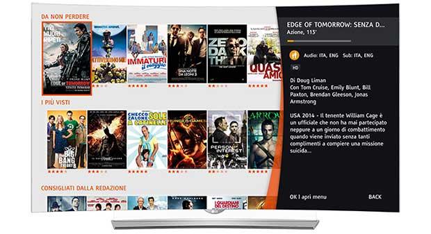 Premium play ora anche sulle smart tv di lg for Premium play su smart tv calcio live