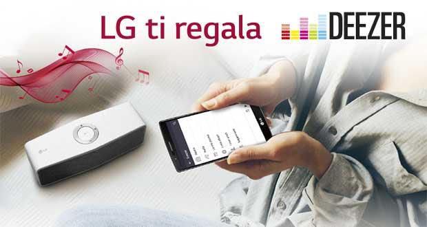 lgdeezerpremium 10 11 15 - LG Smart Hi-Fi Audio con Deezer Premium+ in omaggio