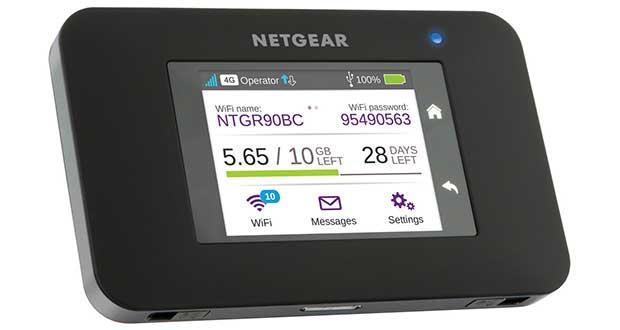 netgear ac790 evi 17 11 15 - Netgear AC790: Hotspot portatile 4G cat 6 e Wi-Fi ac