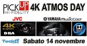 pickup locandina 300x160 - 4K ATMOS Day da PickUp Hi-Fi: sabato 14 novembre