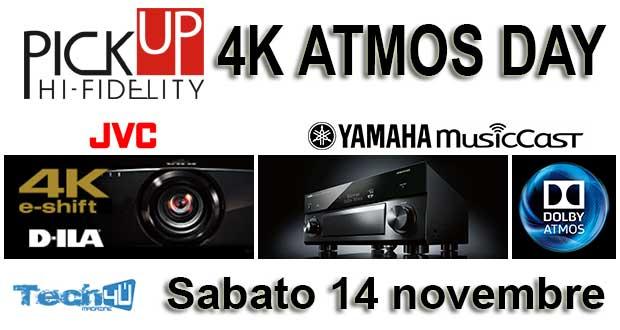 pickup locandina - 4K ATMOS Day da PickUp Hi-Fi: sabato 14 novembre