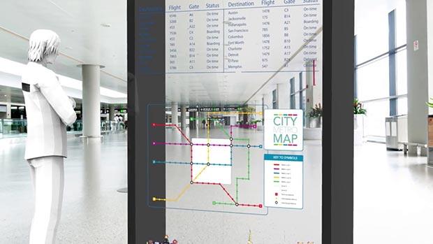 "planar oled trasparente 12 11 2015 - Planar: pannelli OLED trasparenti da 55"""