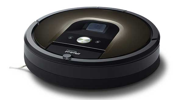 "roomba980 2 04 11 15 - iRobot Roomba 980: robot aspirapolvere ""smart"""