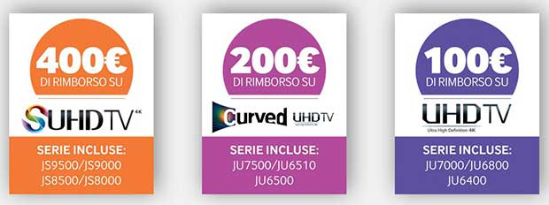 samsungpromo 2 03 11 15 - Samsung Smart TV: promo sconti e 1 anno di Netflix 4K
