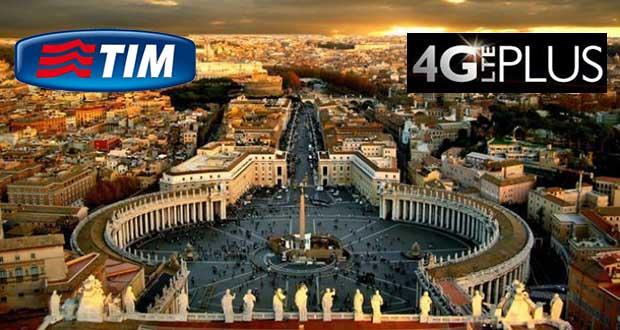 tim 4gplus roma 19 11 15 - TIM 4G Plus da 300 Mbps per il Giubileo a Roma