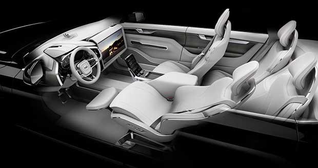 volvo concept26 2 19 11 15 - Volvo Concept 26: auto senza pilota in salsa svedese
