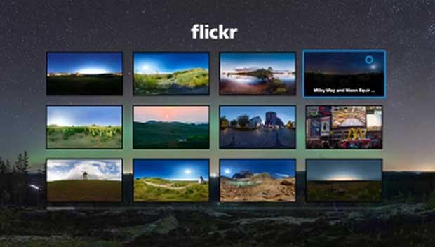 flickr vr 2 11 12 15 - Flick VR: app foto 360° per Samsung Gear VR