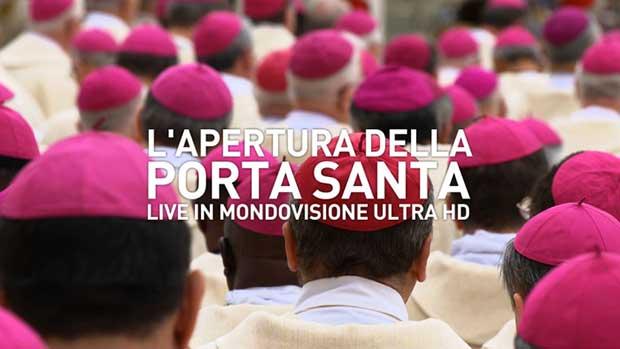 giubileo 4kUHD 1 02 12 15 - Giubileo: cerimonia in diretta Ultra HD via satellite